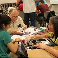 Area high school teachers participate in 2013 week-long IUPUI nanotechnology summer academy administered by INDI.