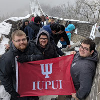Students Travel to China for Study Abroad Program and Work on Joint Software Project