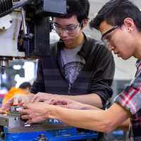 Make and start your engines with Mechanical Engineering Technology program
