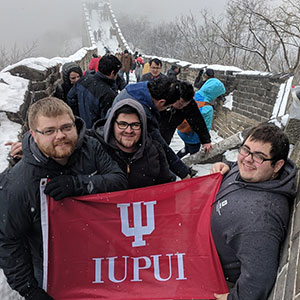 CIT Students on the Great Wall