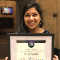 Purdue School of Engineering and Technology biomedical engineering student awarded 2018 Women & Hi Tech Leading Light scholarship
